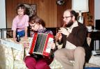 Accordion, Recorder, man, girl, playing, 1976, 1970's, EMNV01P02_17