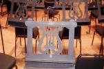Music Stand, Practice room, Davies Symphony Hall