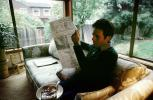 Man reads the morning newspaper, ENCV01P03_03