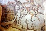 Hunting Scenes from Carthage, around AD 500, tile, tilework, EPAV01P03_06