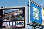 Pacific Bell Park, Girls Rule Guys Drool, KNBR 680, billboards, EPBV01P09_13