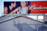 Budweiser Beer billboard, man, woman, EPBV01P12_08