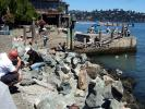 Rocks, stones, mounds, Piles, Stack, Nature, Balance, Waterfront, Sausalito, Cairn, ESAD01_001
