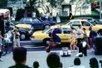 summer, taxi cab, people, Car, Automobile, Vehicle, Manhattan, ETBV01P10_08