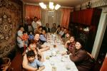 Family, Dinner, Ashkhaband, Turkmenistan, FDAV01P06_16