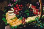 fruit cornucopia, Strawberries, Melons, Watermelon, Apples, FDNV01P02_12.0944