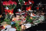 Finger Foods, Table Setting, Flowers, Poinsettias, Buffet, FDNV01P04_03.0838