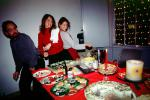 Christmas Party, Woman, Carving, Sushi, WKPI Studios, Beer, Candles, Potrero Hill, FDNV02P07_14