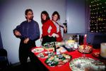 Christmas Party, Woman, Carving, Sushi, WKPI Studios, Beer, Candles, Potrero Hill, FDNV02P07_15