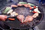 Meat, Steak, Hot Dogs, Vegetables, Shish-Ka-Bob,, Salmon, BBQ, Barbecue, Kentucky Derby Party, FDNV02P08_16