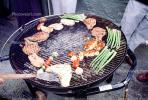 Meat, Steak, Chicken, Hot Dogs, Vegetables, Shish-Ka-Bob,, Salmon, BBQ, Barbecue, Kentucky Derby Party, FDNV02P08_17
