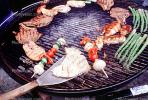 Meat, Steak, Hot Dogs, Vegetables, Shish-Ka-Bob,, Salmon, BBQ, Barbecue, Kentucky Derby Party, FDNV02P08_18