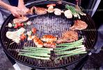 Meat, Steak, Chicken, Hot Dogs, Vegetables, Shish-Ka-Bob,, Salmon, BBQ, Barbecue, Kentucky Derby Party, FDNV02P09_03