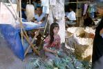 Gorgeous Thai Woman Vending Pineapple, April 1964, 1960s, FGAV01P07_17