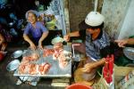 Red Meat, Woman, Smiles, Man, Saigon, Vietnam, FGAV01P15_10
