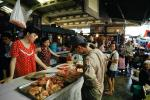 Woman, Man, Red Meat, Saigon, Vietnam, FGAV01P15_11
