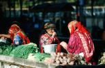 Woman, Vegetables, Ashgabat, Turkmenistan
