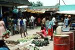 Vegetables, Open Air Market, Jayapura, Island of New Guinea, Indonesia
