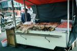 Fish, Seafood, Open Air Market, Bergen, Norway, FGEV01P06_13