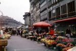 flowers, Open Air Market, Bern, Switzerland, FGEV01P06_19