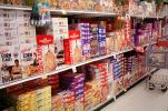 Cereal aisle, Supermarket Aisles, FGNV01P11_12