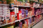 Cereal aisle, Supermarket Aisles, FGNV01P11_14