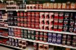 canned coffee aisle, Supermarket Aisles, FGNV01P12_07