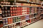 canned coffee aisle, Supermarket Aisles, FGNV01P12_08