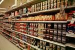 canned coffee aisle, Supermarket Aisles, FGNV01P12_12