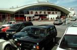 Safeway Grocery Store, Parking, 16th street and Potrero Avenue, shopping center, Cars, vehicles, mall, Automobiles, San Francisco, FGNV01P13_17