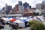 Tents, Booths, office buildings, SOMA, Farmers Market, FGNV02P12_17