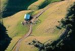 Rolling Hills of Northern California, Barn, Road, FMNV01P08_16