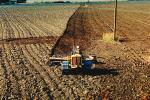 Harrow Disc Plow, Plowing, Tilling, Tractor, Rototill, Rotary-Till, Farmer, near Sacramento, California, USA, Dirt, soil, FMNV02P02_15.0839