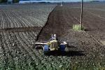 Harrow Disc Plow, Plowing, Tilling, Tractor, Rototill, Rotary-Till, Farmer, near Sacramento, California, USA, Dirt, soil, FMNV02P02_16