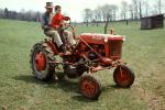 Father and Son, Farmall Tractor, 1950s, FMNV02P14_10