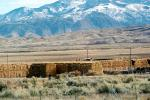 Hay Bale Stacks, mountains, FMNV05P01_05