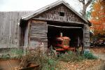 dilapidated Shed, Tractor, Garage, shed