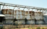 rusting Silo, Central Valley