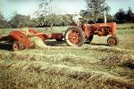 Baleing Hay, Windrows, Farmall, Tractor, Baler, Hay Bale, Farmer, FMNV09P01_12