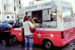 Osborn of London, England, Ice Cream Van, Woman, Purse, FPRV01P08_12