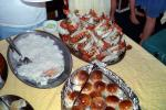 Lobster Tails, crab meat, bread rolls, steamed, seafood, shellfish, FRBV06P06_13