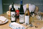 Wine Bottles, Brie, Cheese, Corkscrew, corker, bottle opener, cork, fruit bowl, FTBV01P05_15