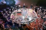 Ice Bowl, empty glasses, Vodka Bottles, cold, ice, Absolut, FTBV01P12_07