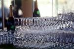 Wine Glasses racked