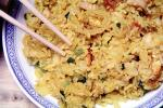 Shrimp Fried Rice, Chinese Food, China, Bowl, Plate, chopsticks, Chinese, Asian, Asia, FTCV02P04_08