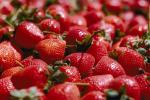 Strawberries, texture, background, FTFV01P10_06.0953