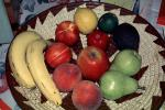 fruit bowl, apple, pear, peach, lemon, lime,, FTFV02P02_11