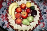 fruit bowl, apple, pear, peach, lemon, lime,, FTFV02P02_12