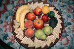 fruit bowl, apple, pear, peach, lemon, lime,, FTFV02P02_13