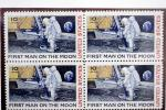 NASA moon landing, First Man on the Moon, Ten Cent Stamp, Philatelic Endowment Fund, LEM, Lunar Module, GCPV01P07_14